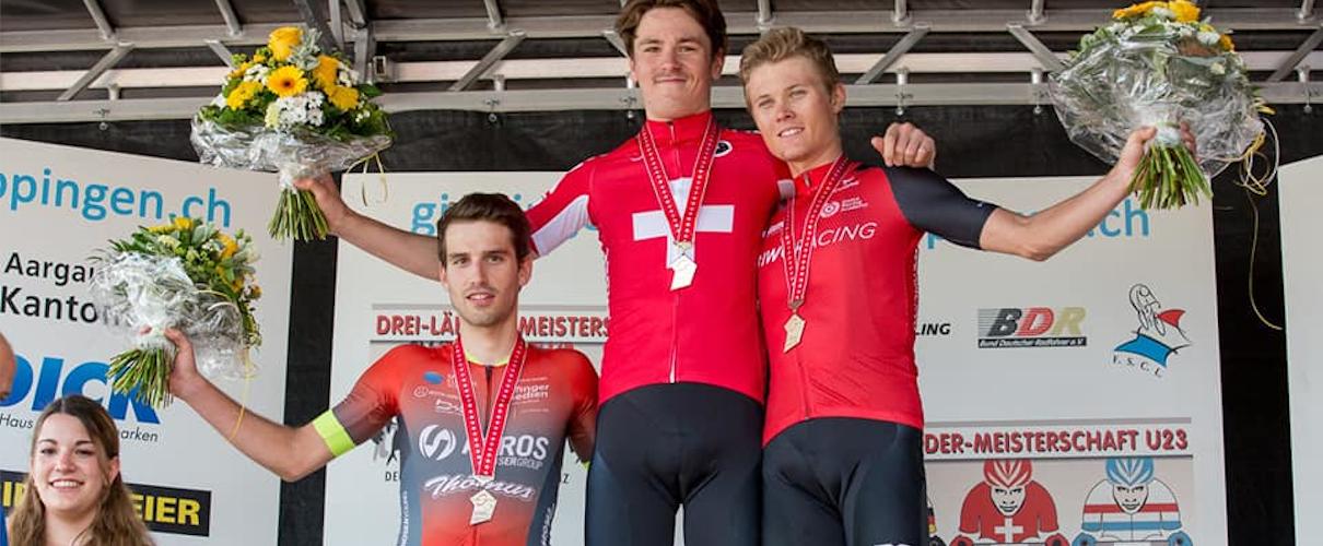 Zweiter Platz für Antoine Aebi an der Schweizer Meisterschaft U23