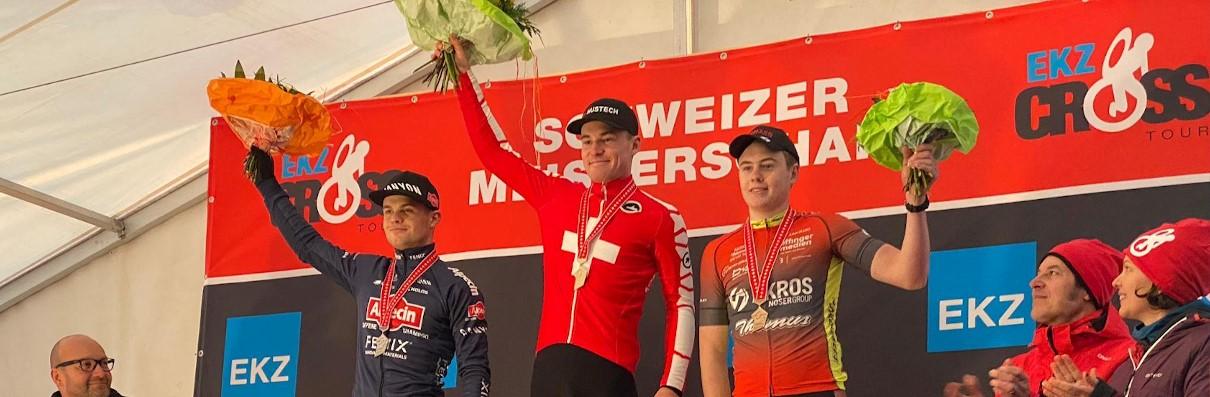 Felix Stehli holt Bronze bei der Schweizer U23 Radquer Meisterschaft